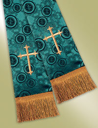 Millenova Pulpit / Clergy Stole 13103 - Emerald