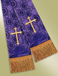 Millenova Pulpit / Clergy Stole 13102 - Purple