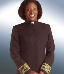 Ladies Black Clergy Jacket