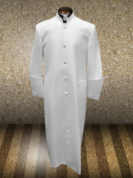 Standard Clergy Cassock in Ivory