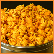 Red Pepper Cheddar Popcorn