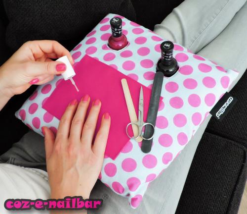 Coz-E-Nailbar Spot Design Manicure Cushion Set (NB1580)