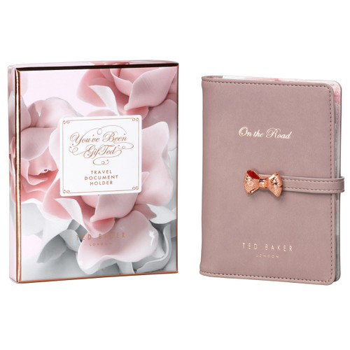 Ted Baker Thistle Travel Wallet and Pen (TED222)
