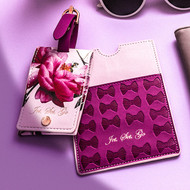 Ted Baker Citrus Bloom Luggage Tag & Passport Travel Set (TED218)