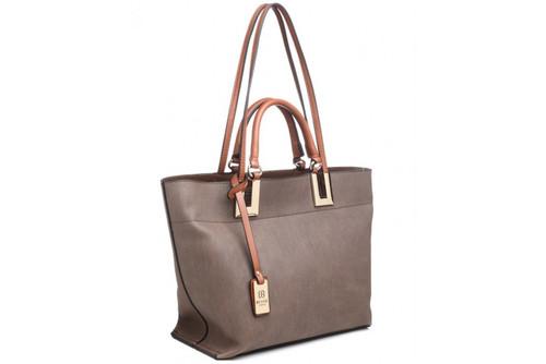 Bessie London 2in1 Grab Bag (BW2781) in Brown