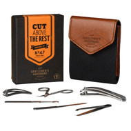 Mens Canvas Manicure Set