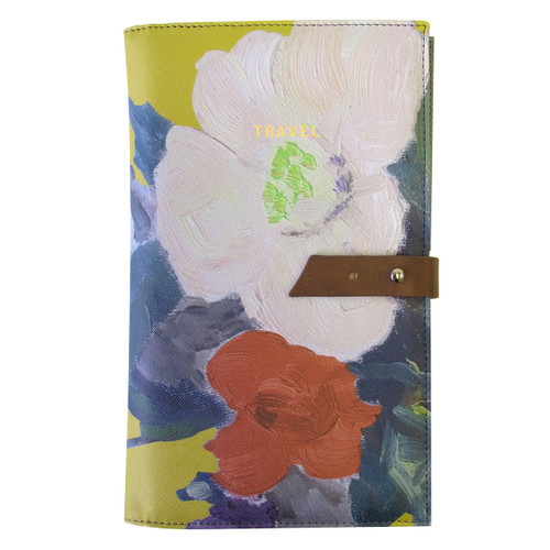 1916 Floral Travel Wallet (916TWA)