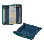 Ted Baker Teal Geometric Accessory Tray (TED347)