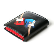 Leather Guitar BiFold Wallet