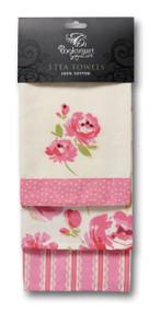 3pk Love To Bake Tea Towels