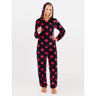 Stars Fluffy Fleece Onesie
