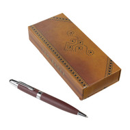 Ted Baker Brown Brogue Pen in Gift Box TED055
