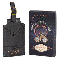 Ted Baker Black Brogue Luggage Tag (TED156)