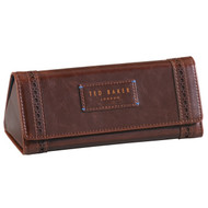 Ted Baker Walnut Brown Brogue Glasses Case