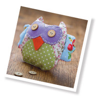 Patchwork Owl Sewing Kit (CKC-SK-022)