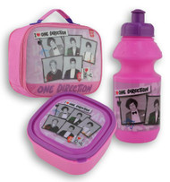One Direction Lunch Bag with Bottle (111502-F53301)