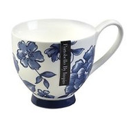 Portobello Footed Perla Fine Bone China Mug (CM02307)