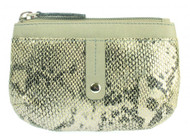 Ladies Snake Print Coin Purse (75038)