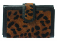 Small Leather Animal Print Wallet Purse (75043)