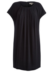 Phoebe Crepe Black Dress (500070055)