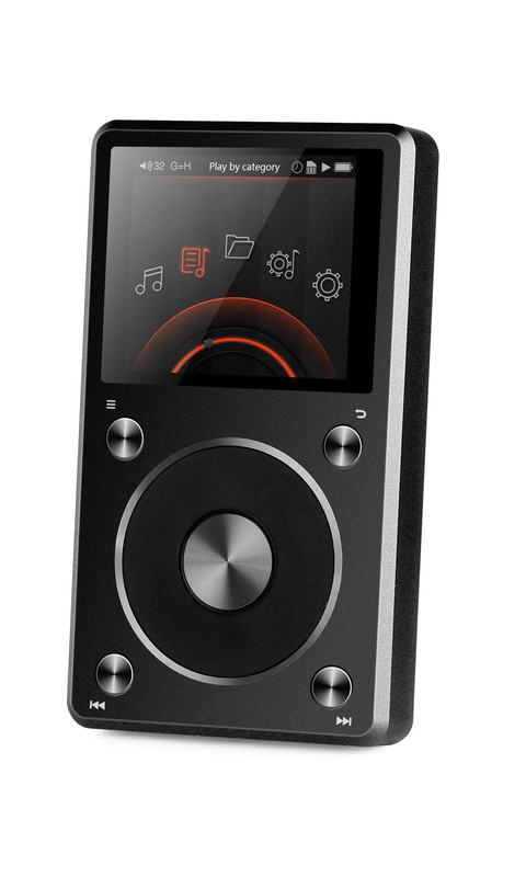 Fiio X5 2nd Gen in Canada, high res portable music player, flac and wav files, usb dad, at Headphone Bar