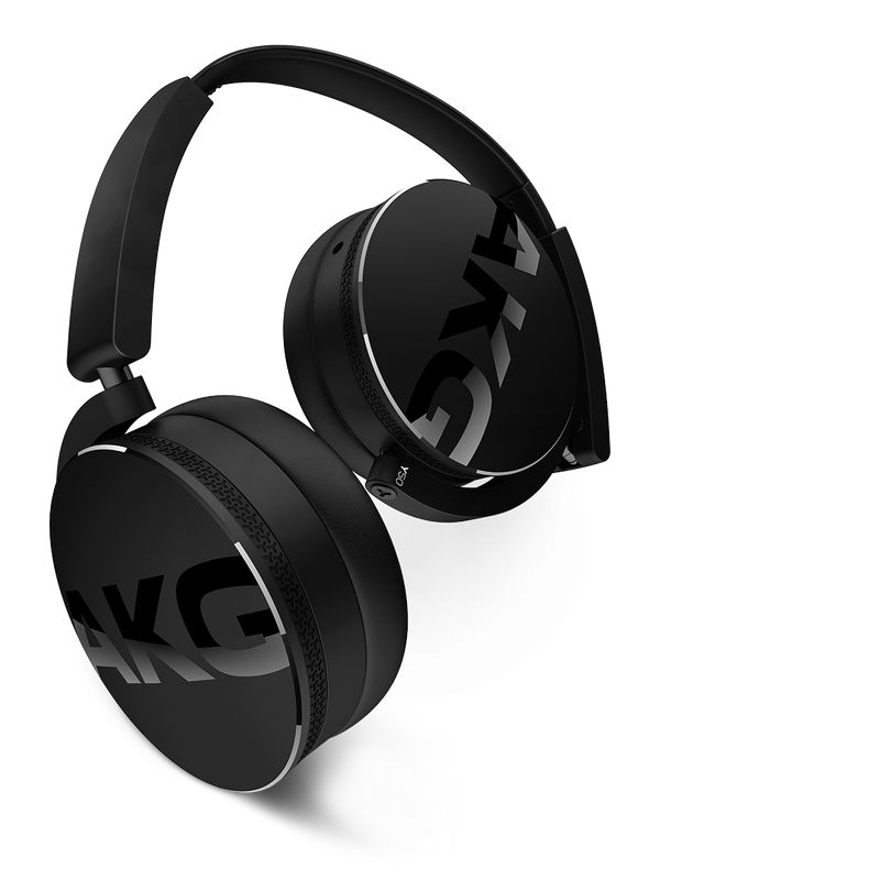 akg y50 headphones have strong deep bass, great for EDM