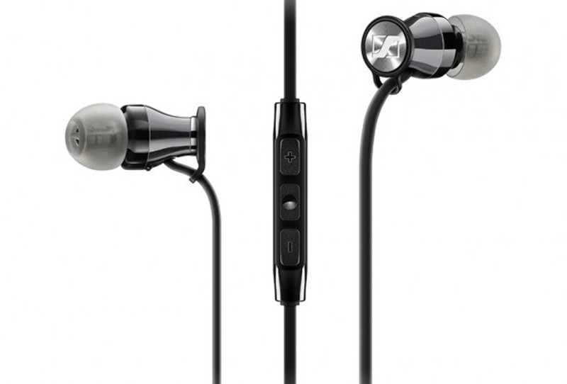 Momentum in-ear black silver, in Canada at Headphone Bar