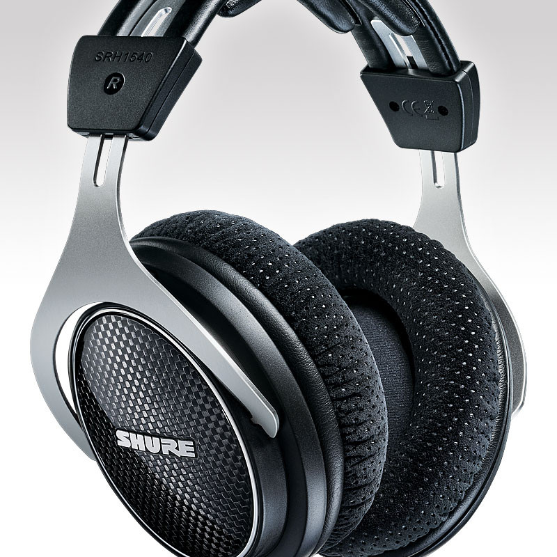 Shure SRH1540 full size, closed back headphones, in Canada
