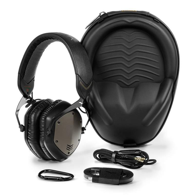 V-Moda crossfade Wireless, carry case and accessories, headphonebar.com