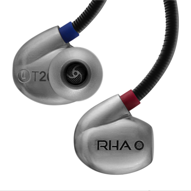 rha t20i noise isolating earphones, tunable filters, in Canada