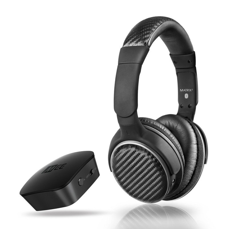 Mee Audio Matrix 2 & Connect transmitter bundle in Canada at Headphone Bar, low latency apt-x bluetooth 4.0