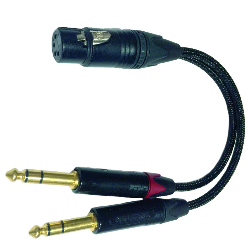 Balanced Out Adaptor, optional, for XLR output