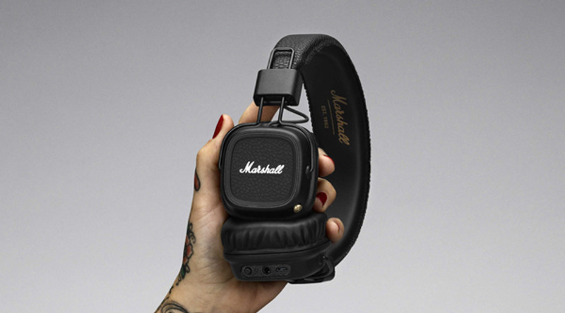 Marshall Major II Bluetooth, in Canada at Headphone Bar, with 30 hours play time