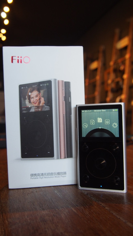 Fiio X1 2nd Gen high res music player, in Canada at Headphone Bar