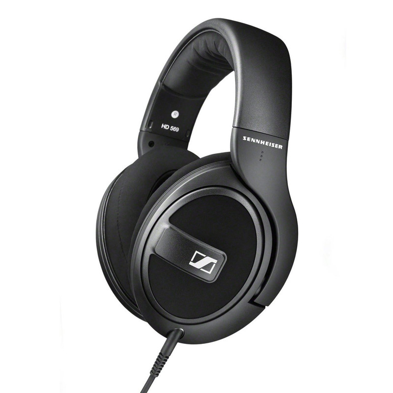 HD569 closed over ear headphones