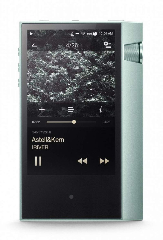Astell& Kern ak70 high res music player, in Canada at Headphone Bar