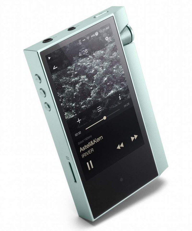 AK70 lossless music player, 64 GB storage + up to 256 GB via micro sd card