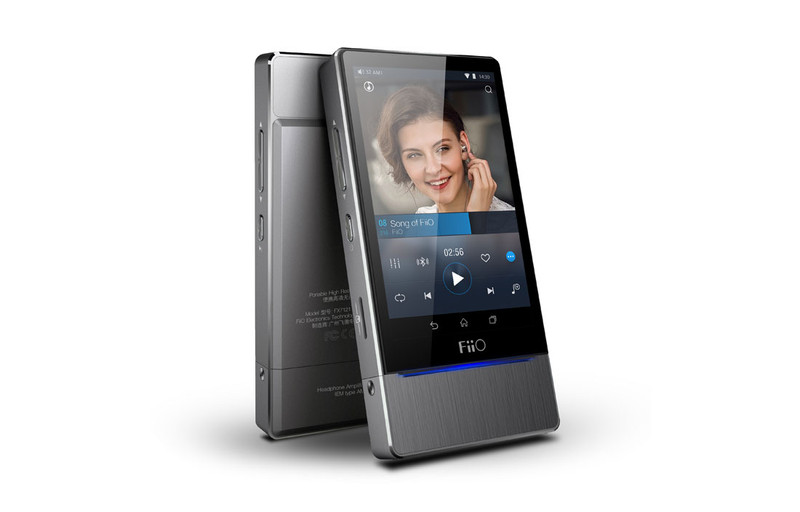 Fiio X7 high res music player, ess 9018 dac, amp module, in Canada at headphonebar.com