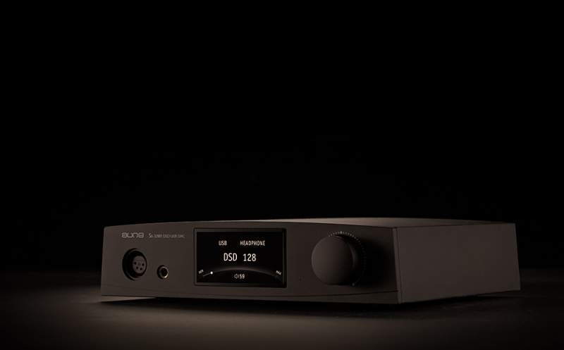 Aune S6 dac, balanced headphone amp, black finish, in Canada at Headphone Bar