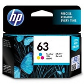Hewlett Packard-Hp 63 Tri-color Original Ink Cartridge SKU F6U61AA
