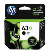 Hewlett Packard-Hp 63xl High Yield Black Original Ink Cartridge SKU F6U64AA