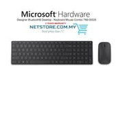 Microsoft-Microsoft Bluetooth Designer Desktop Mouse & Keyboard - Retail Box (black) SKU 7N9-00028