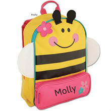 Personalized Kids Backpacks Sidekicks toddler Bee