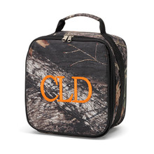 Monogrammed Kids Lunch Boxes Woods Camo