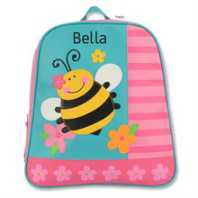 Monogrammed Kids Backpacks GoGo Bee - Kids Bags