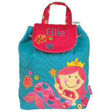 Signature Quilted Bags Large in Mermaid - Kids Bags