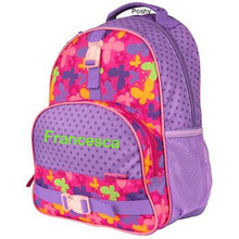Kids School Bags Over Style Elementary Size Butterfly