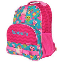 Kids School Bags Over Style Elementary Size Owl