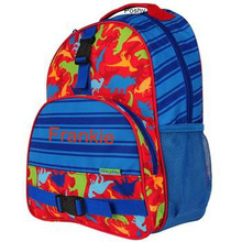 Kids School Bags Over Style Elementary Size Dino