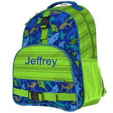 Kids School Bags Over Style Elementary Size Shark